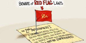 A.F. Branco Cartoon - Seeing Red