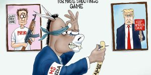 A.F. Branco Cartoon - Pin Head