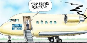 A.F. Branco Cartoon - Jet Setter