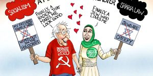 A.F. Branco Cartoon - Unholy Alliance
